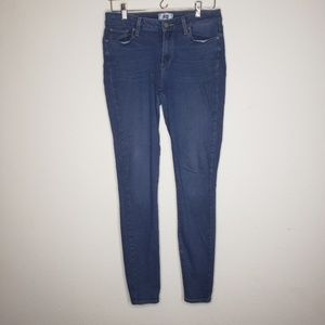 Paige Medium Wash Skinny Jeans